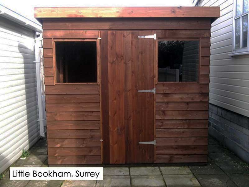 Garden Shed in Little Bookham, Surrey