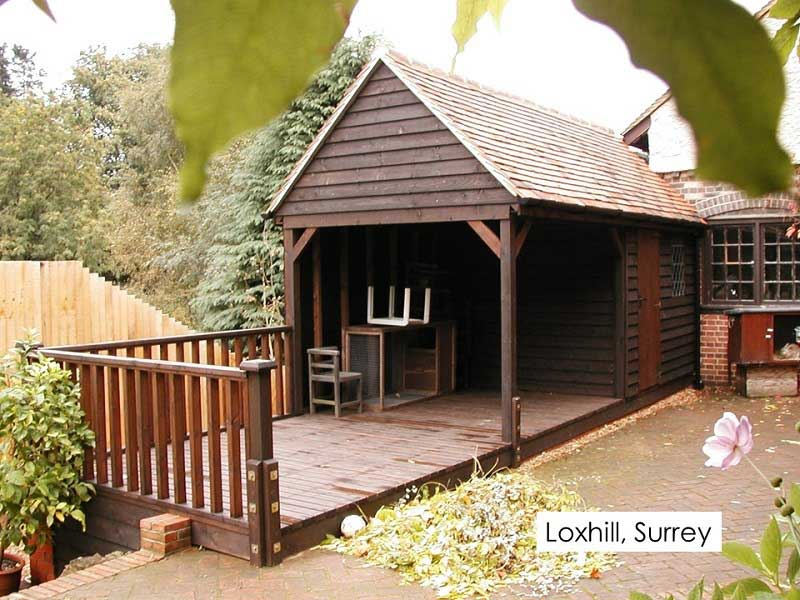 Premium Timber Workshop in Loxhill, Surrey