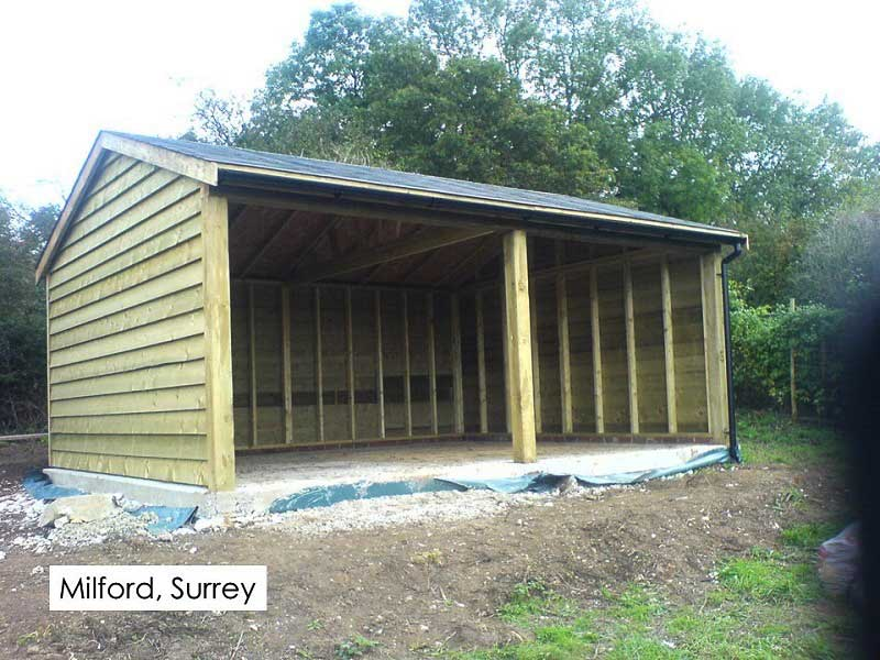 Traditional Garage in Milford, Surrey