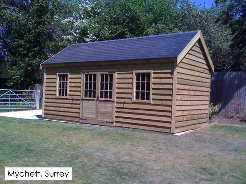 Traditional Garage in Mychett, Surrey