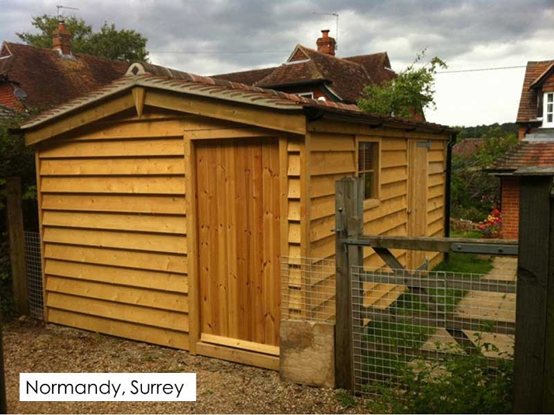 Traditional Garage in Normandy, Surrey
