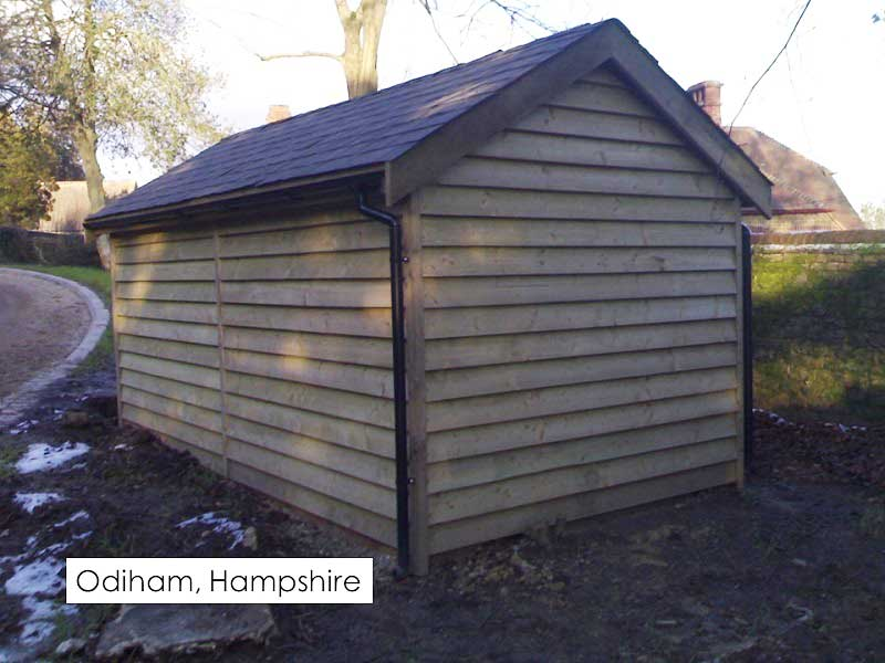 Premium Timber Workshop in Odiham, Hampshire