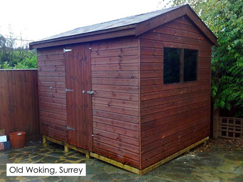 Garden Shed in Old Woking, Surrey