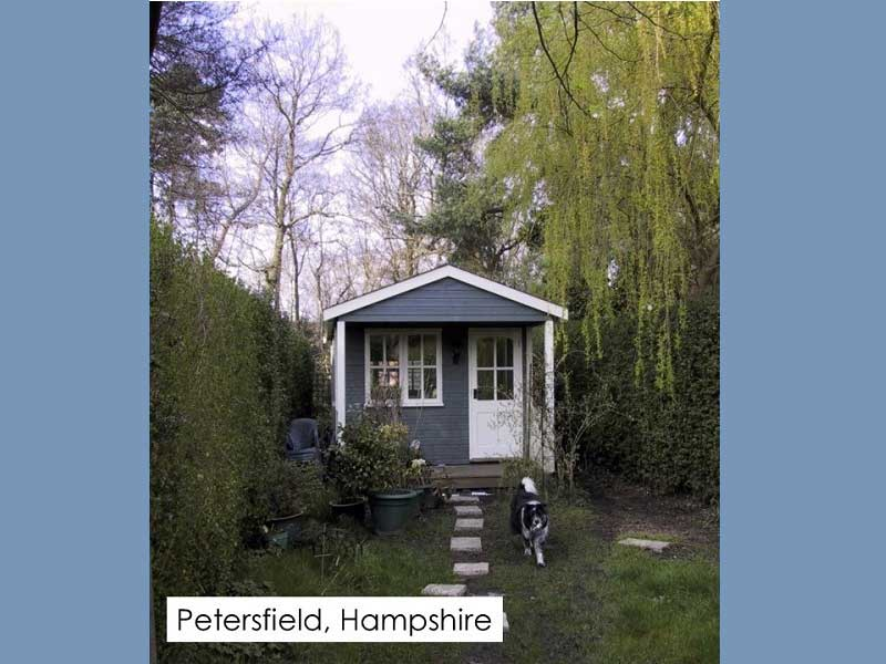 Garden Office in Petersfield, Hampshire