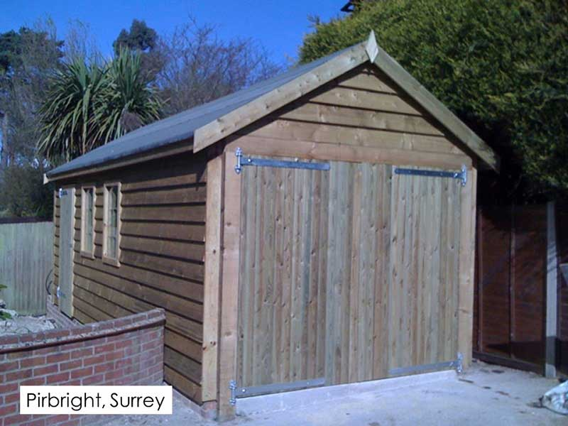 Traditional Garage in Pirbright, Surrey