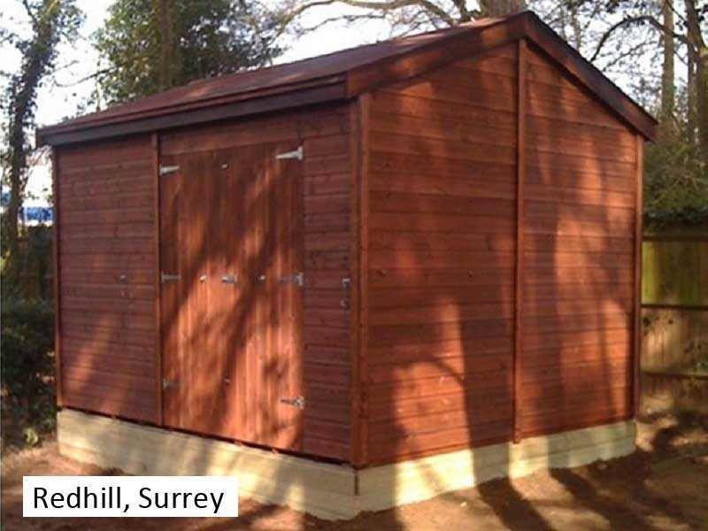 Premium Timber Workshop in Redhill, Surrey