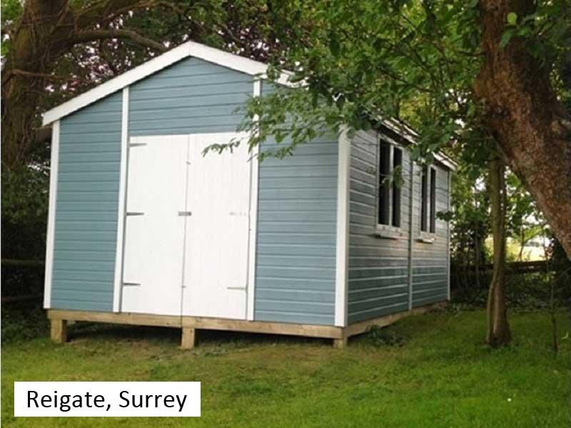 Premium Timber Workshop in Reigate, Surrey