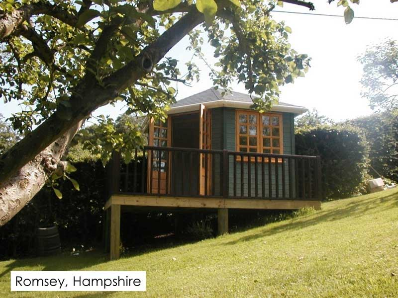 Garden Studio in Romsey, Hampshire
