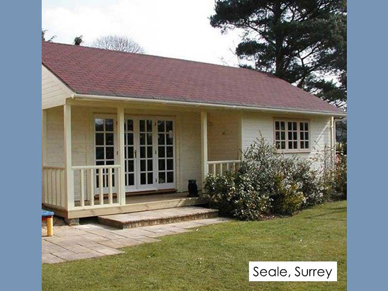 Garden Room in Seale, Surrey