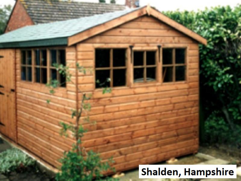 Timber Workshop in Shalden, Hampshire