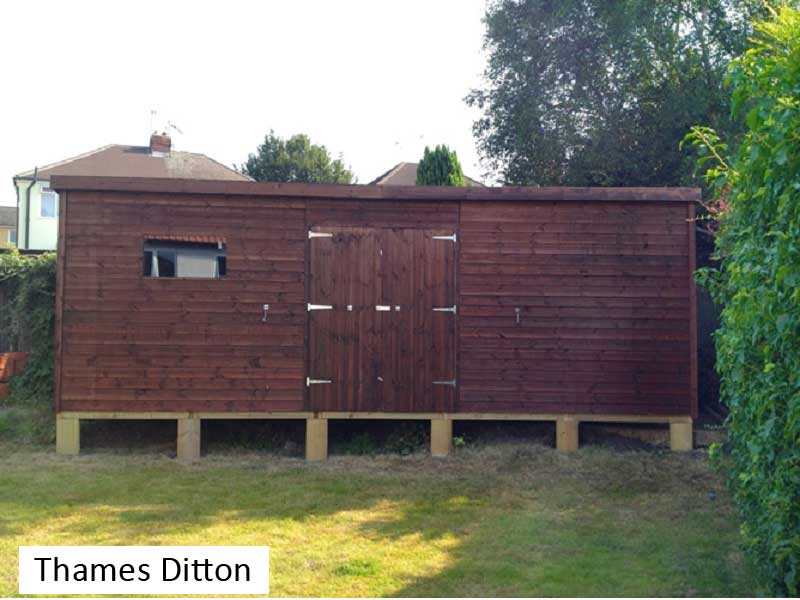 Premium Timber Workshop in Thames Ditton, Surrey