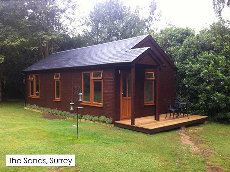Granny Annexe in The Sands, Surrey