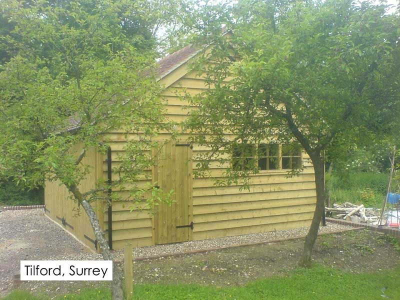 Traditional Garage in Tilford, Surrey