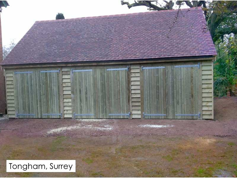 Traditional Garage in Tongham, Surrey