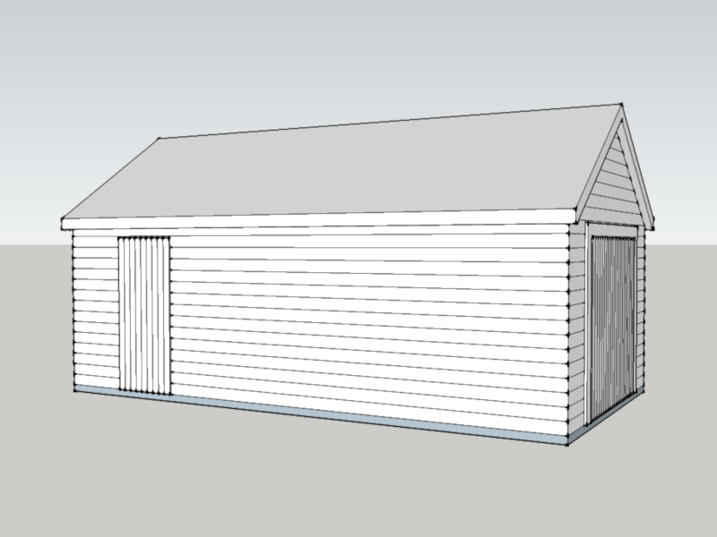 Traditional Garage in Hurst, Berkshire