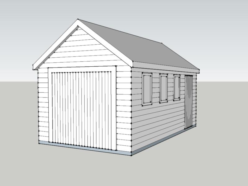 Traditional Garage in Newton, Berkshire