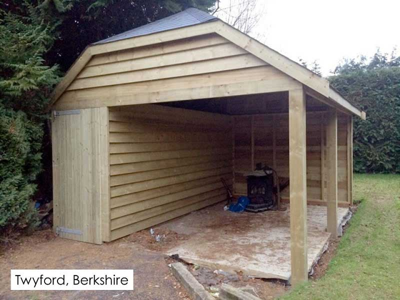 Traditional Garage in Twyford, Berkshire