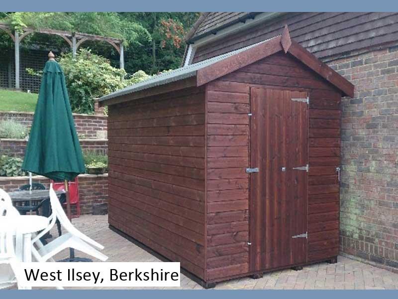 Garden Shed in West Ilsley, Berkshire