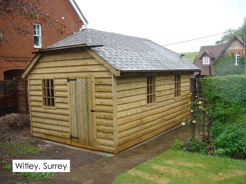 Traditional Garage in Witley, Surrey