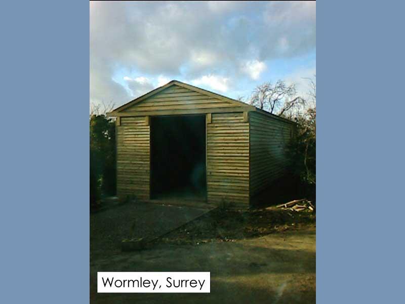 Traditional Garage in Wormley, Surrey