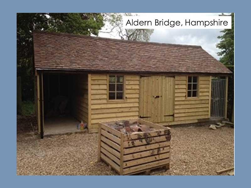 Traditional Garage in Aldern Bridge, Hampshire