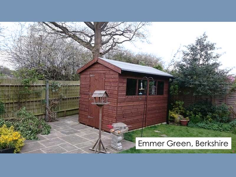 Garden Shed in Emmer Green, Berkshire