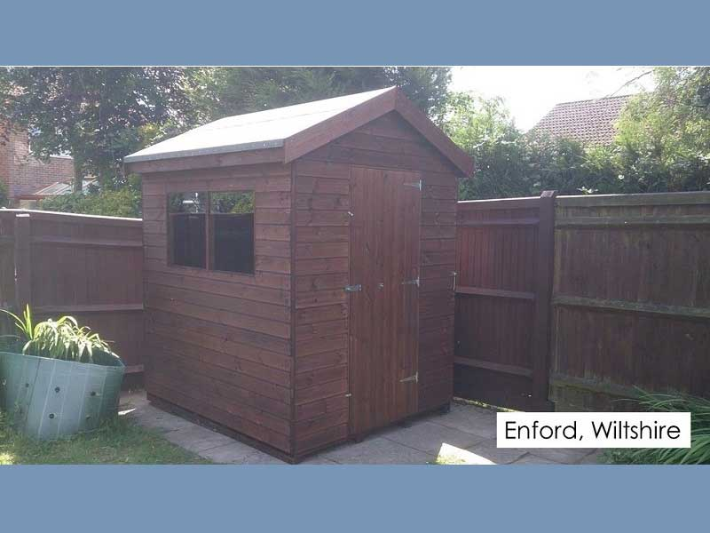 Garden Shed in Enford, Wiltshire