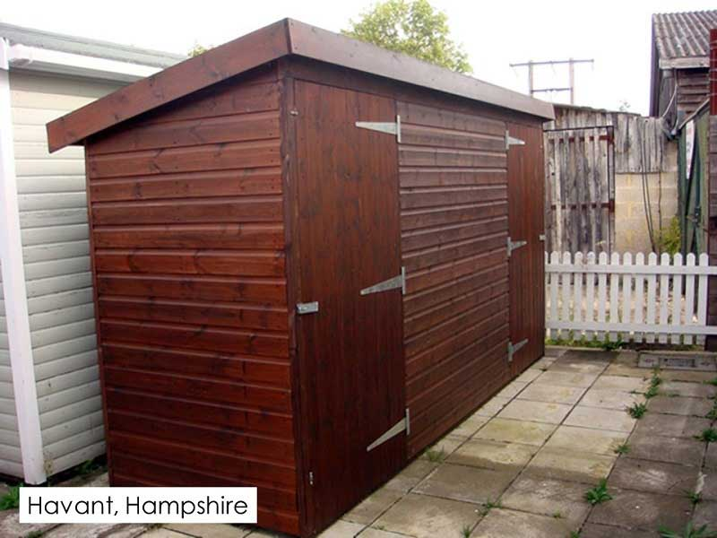 Garden Shed in Havent, Wiltshire