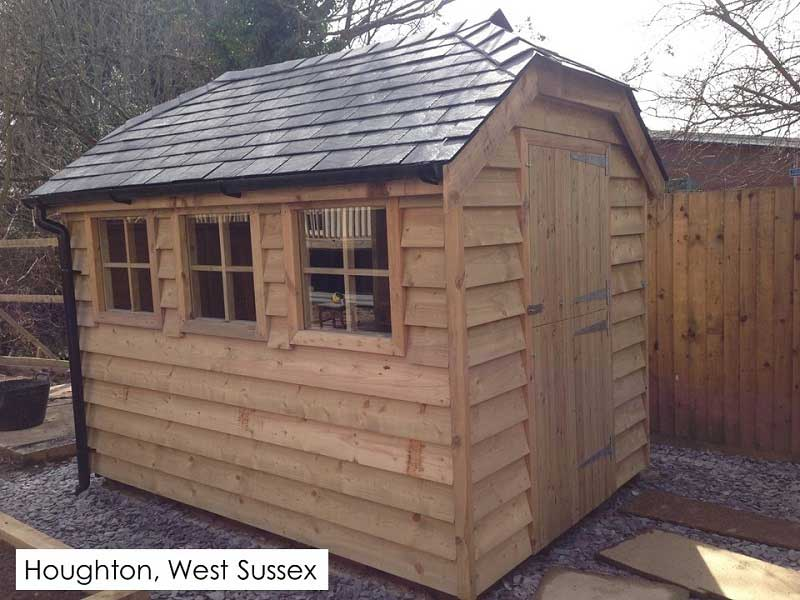 Garden Shed in Houghton, West Sussex