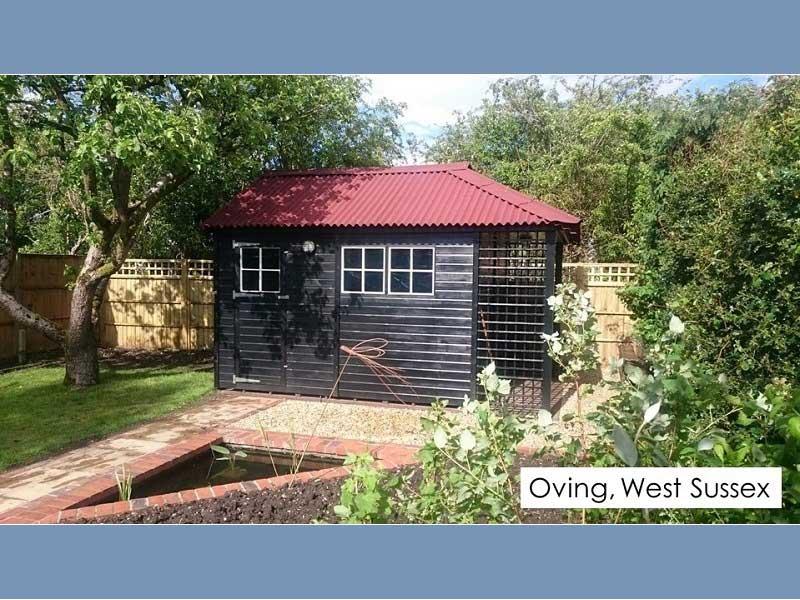 Premium Timber Workshop in Oving, West Sussex