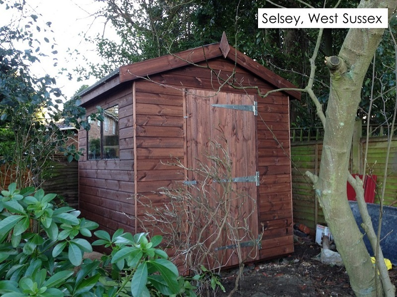 Garden Shed in Selsey, West Sussex