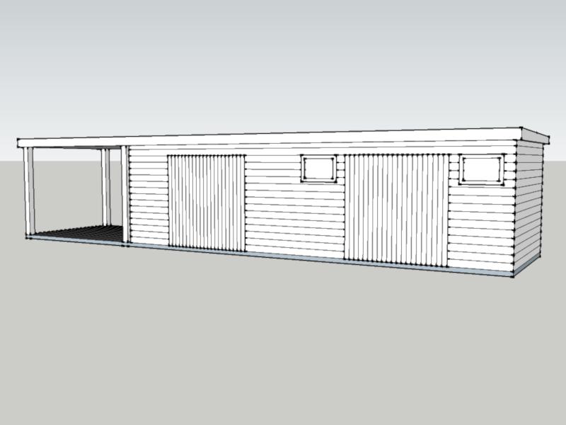 Traditional Garage in Kiln Green, Berkshire