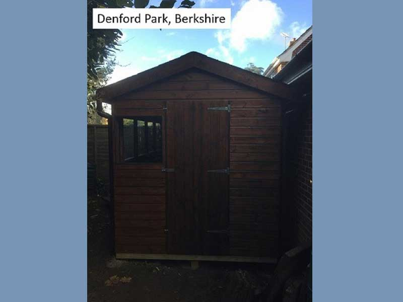 Garden Shed in Dorney, Berkshire
