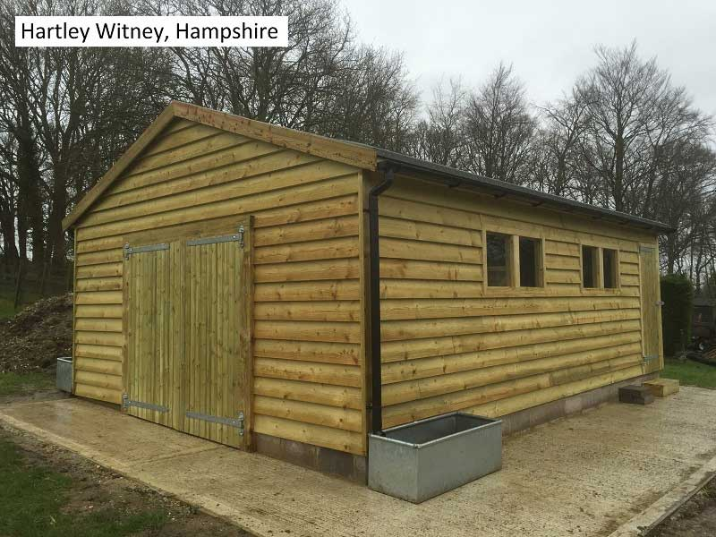 Traditional Garage in Hartley Witney, Hampshire