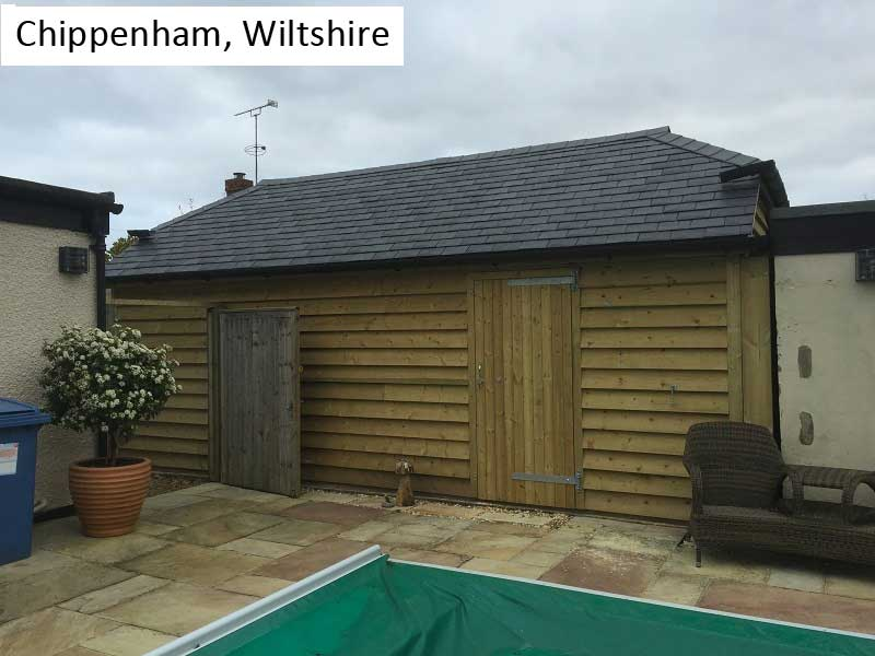 Traditional Garage in Chippenham, Wiltshire