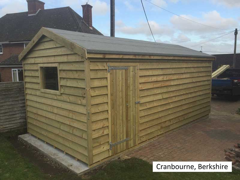 Premium Timber Workshop in Cranbourne, Berkshire