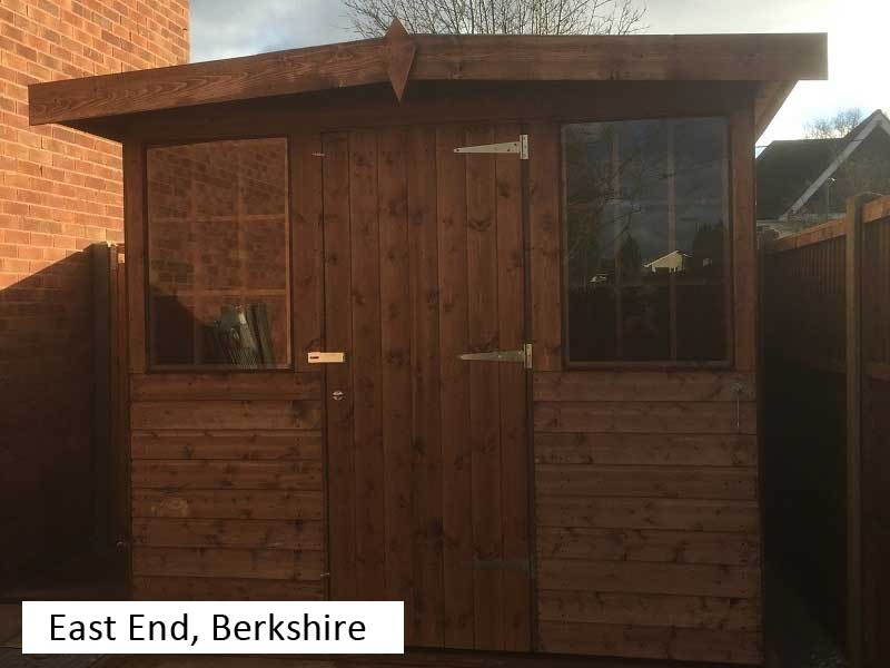 Garden Shed in East End, Berkshire