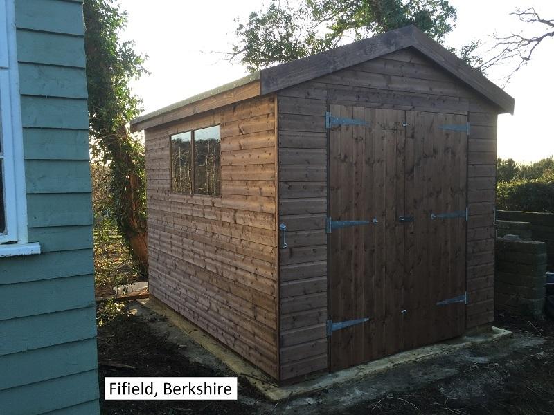 Timber Workshop in Fifield, Berkshire