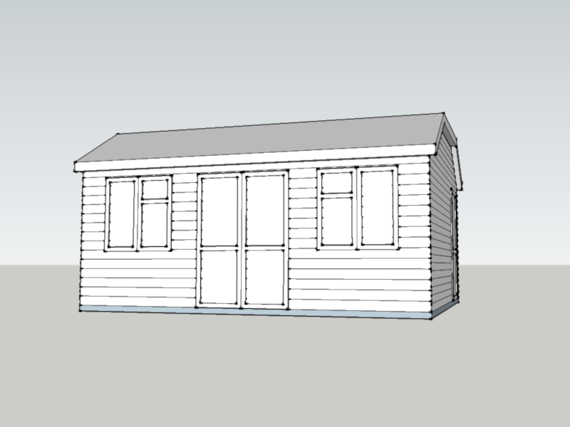 Garden Office in Wroughton, WIltshire