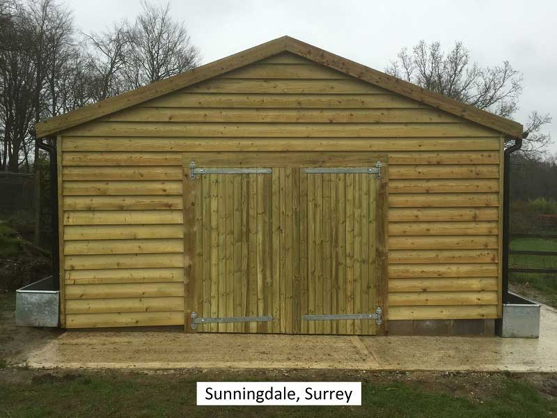 Traditional Garage in Sunningdale, Surrey