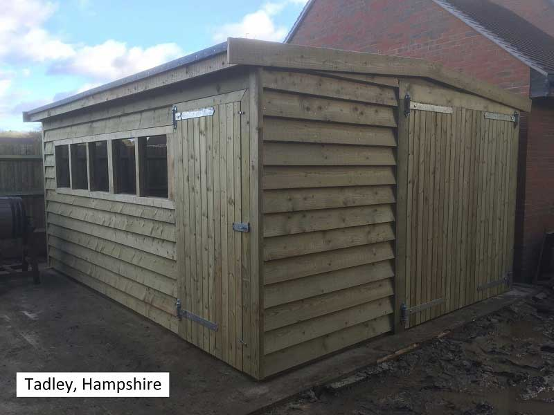 Traditional Garage in Tadley, Hampshire