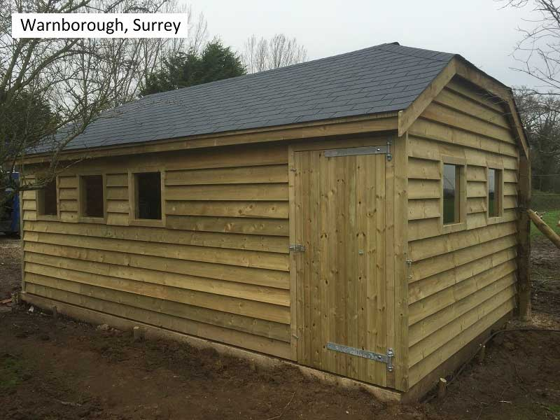 Traditional Garage in Warnborough, Surrey