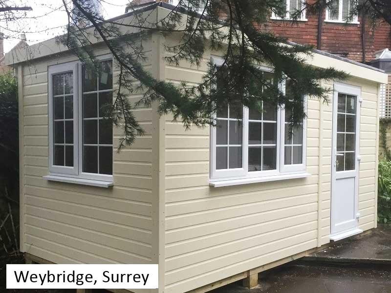 Garden Pod in Weybridge, Surrey