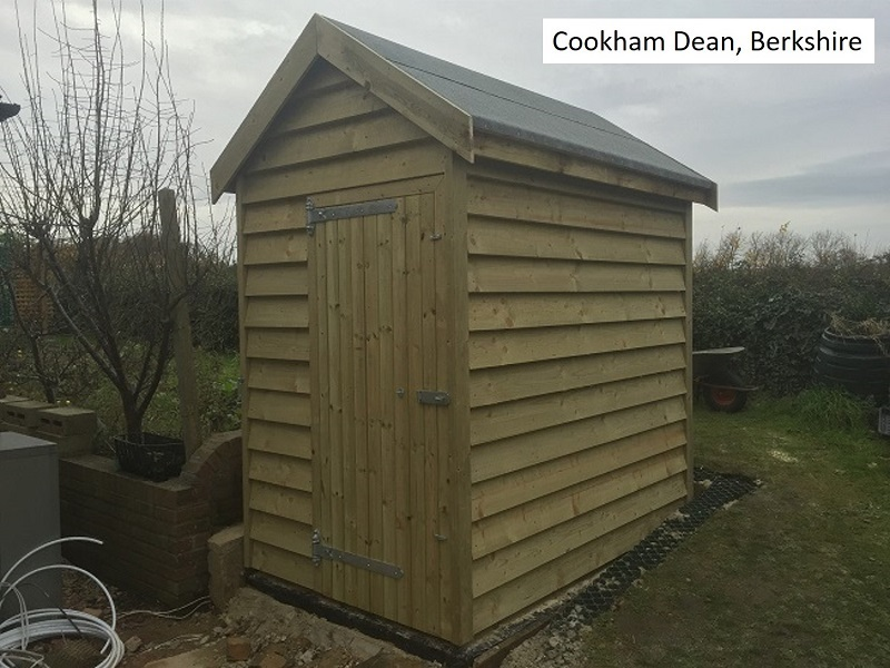 Garden Shed in Cookham Dean, Berkshire