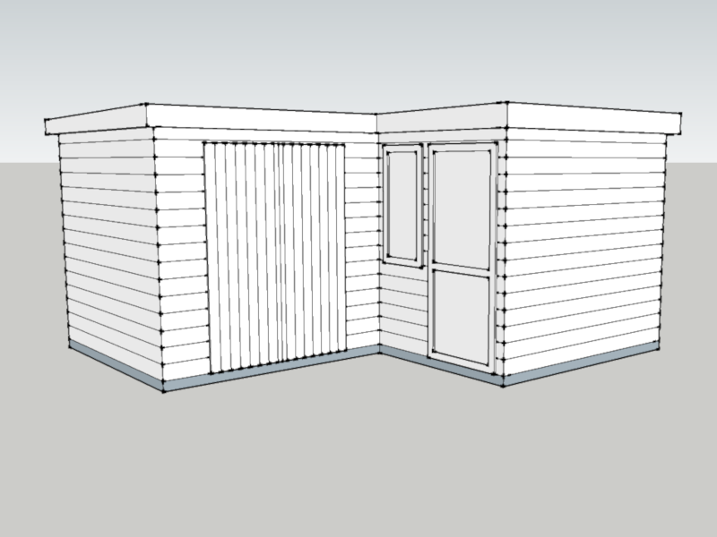 Garden Pod and Premium Workshop in Godalming, Surrey