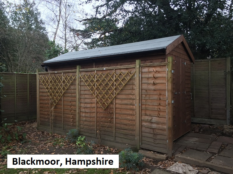 Garden Shed In Blackmoor, Hampshire