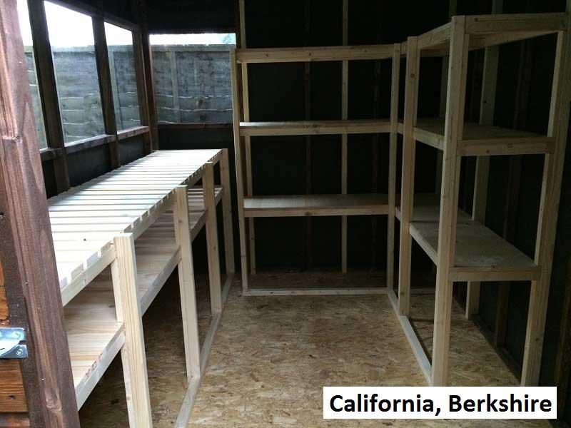Timber Workshop In California, Berkshire
