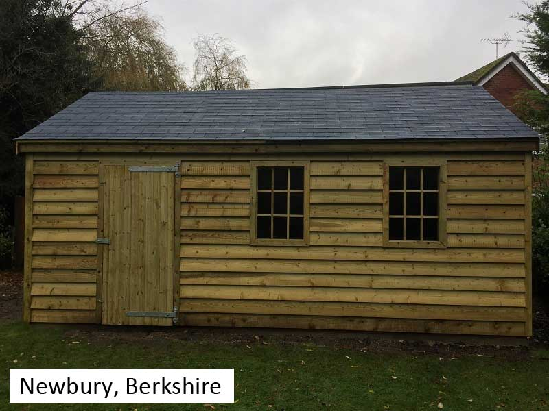Premium Timber Workshop In Newbury, Berkshire
