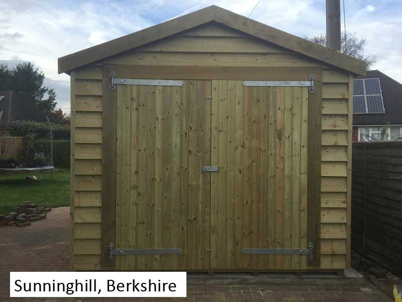 Premium Timber Workshop In Sunninghill, Berkshire