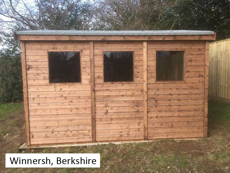 Premium Timber Workshop In Winnersh, Berkshire